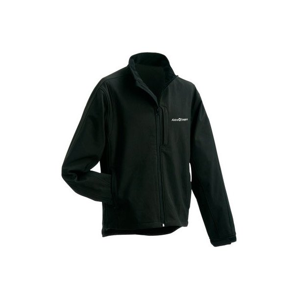 f435da55 Herre softshell jakke med tryk - sort - Overtøj - Biledgaard Profil ...